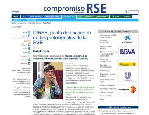 DIRSE, punto de encuentro de los profesionales de la RSE