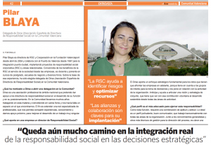 Entrevista Pilar Blaya