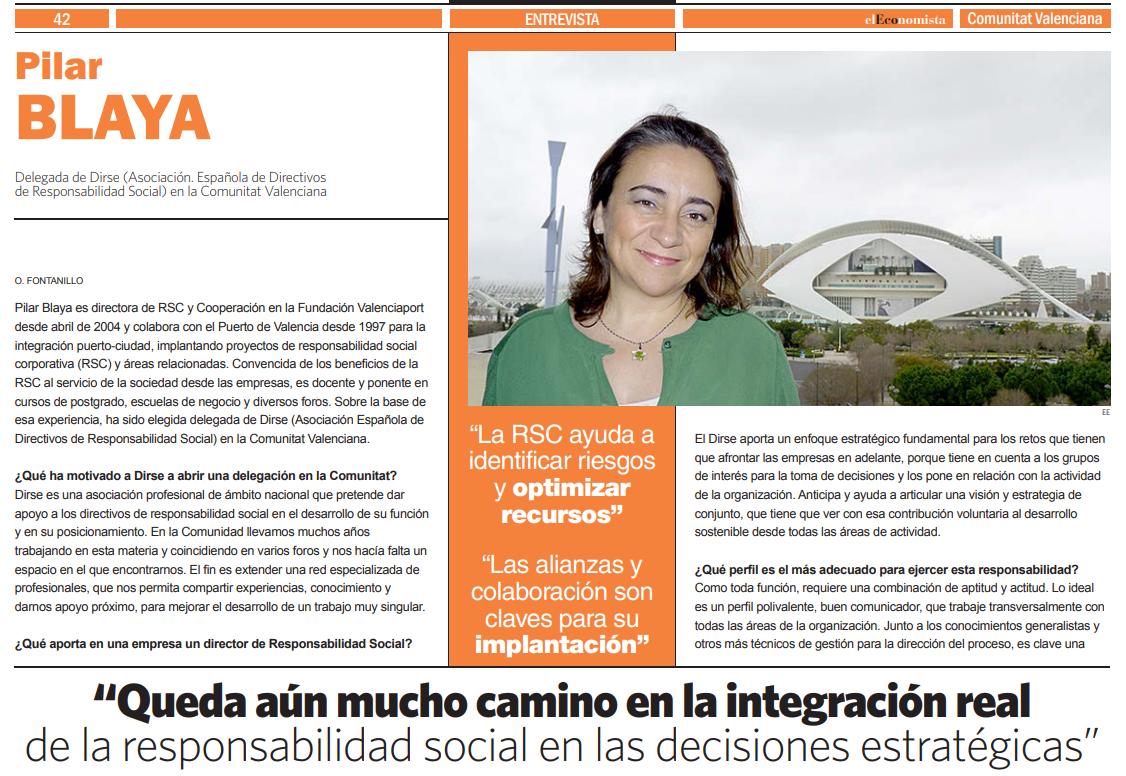 Conoce la labor de difusión de nuestra delegada DIRSE en Valencia