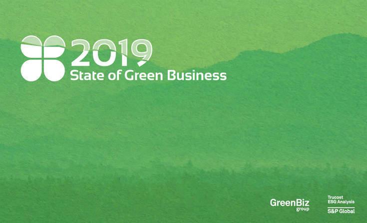 "Ya disponible el informe ""State of Green Business 2019"""