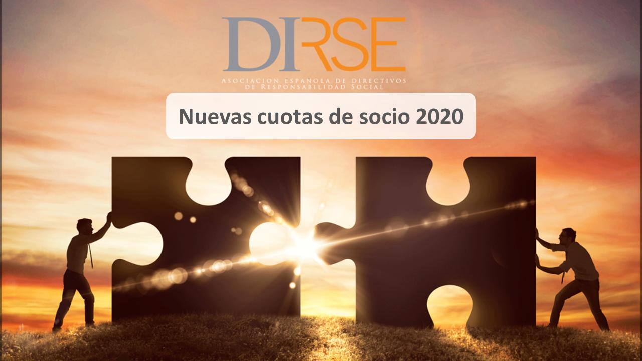 Nuevas cuotas de socio para 2020