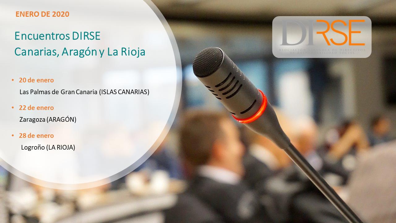 No te pierdas los encuentros DIRSE de enero en Canarias, Aragón y La Rioja