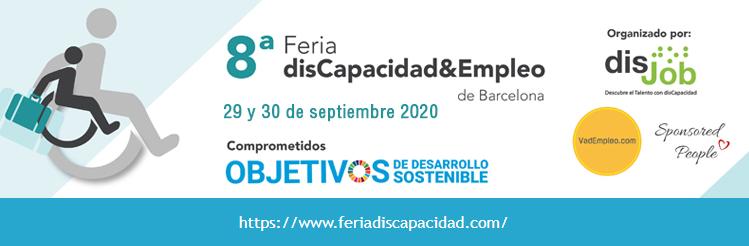 8ª Feria Discapacidad & Empleo