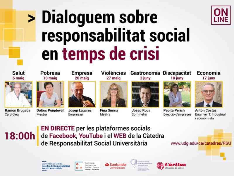 Dialoguem sobre responsabilitat social en temps de crisi: Discapacitat