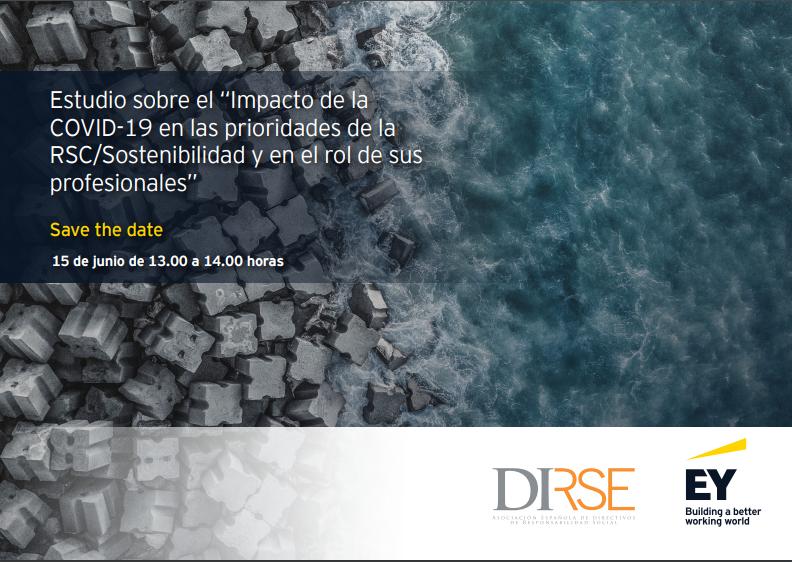 """Estudio sobre el """"Impacto de la COVID-19 en las prioridades de la RSC/Sostenibilidad y en el rol de sus profesionales"""""""