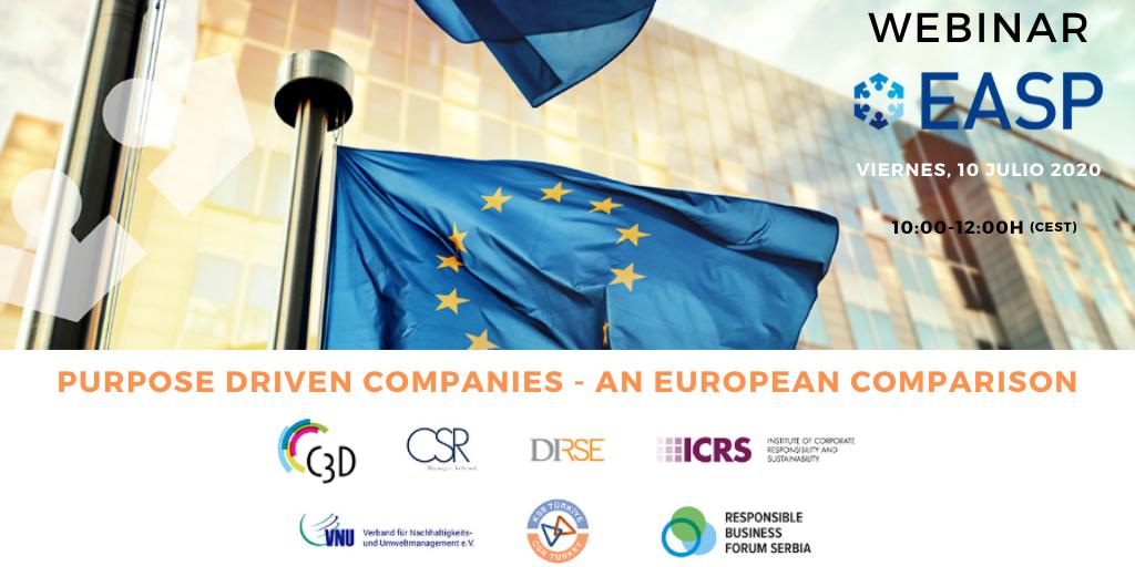Purpose driven Companies – An European Comparison