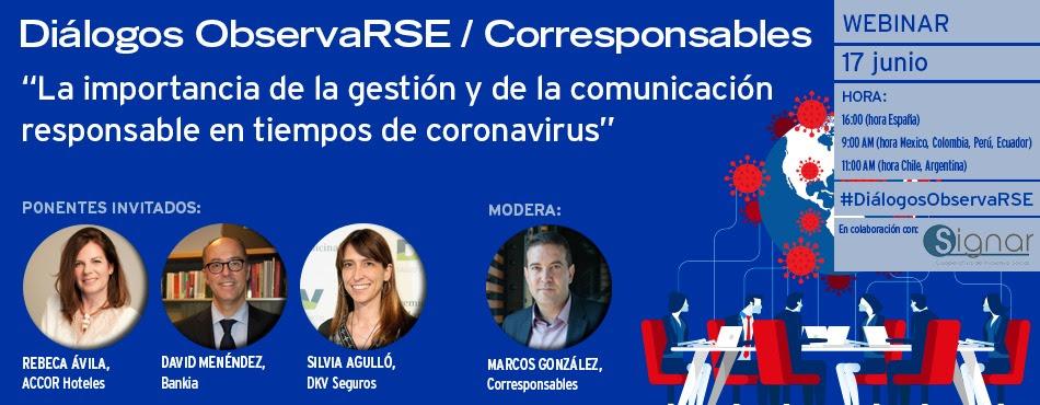 La importancia de la gestión y de la comunicación responsable en tiempos de coronavirus