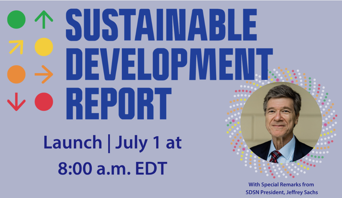 Sustainable Development Report