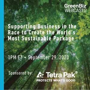 Supporting Business in the Race to Create the World's Most Sustainable Package