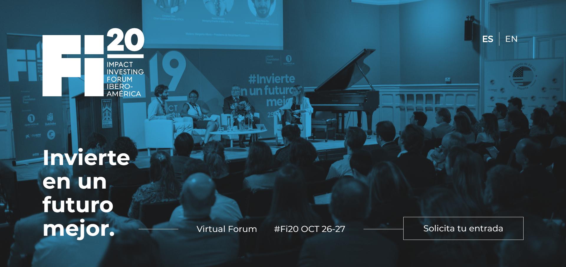 Fi20: Impact Investment Forum Iberoamérica