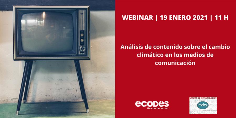 Presentación del 2º informe del Observatorio de la Comunicación del Cambio Climático