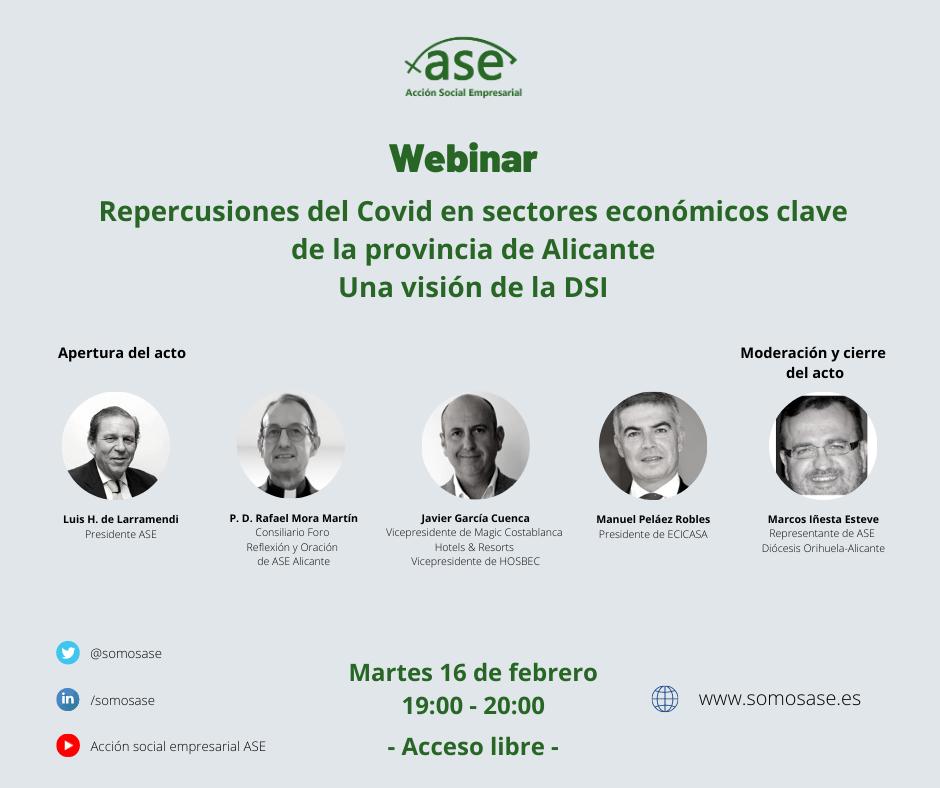 Repercusiones del COVID en sectores económicos clave de la Provincia de Alicante. Una visión desde la DSI