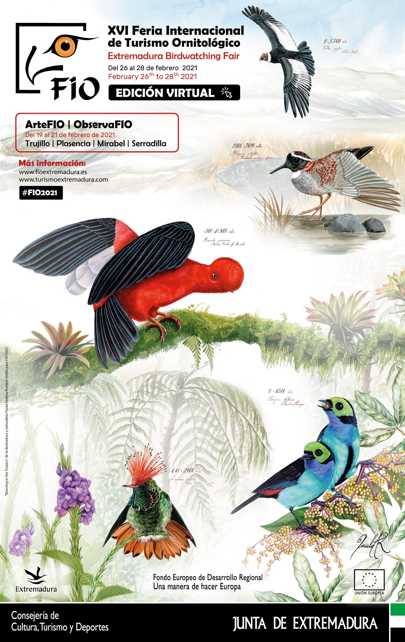 XVI Feria Internacional de Turismo Ornitológico (FIO)