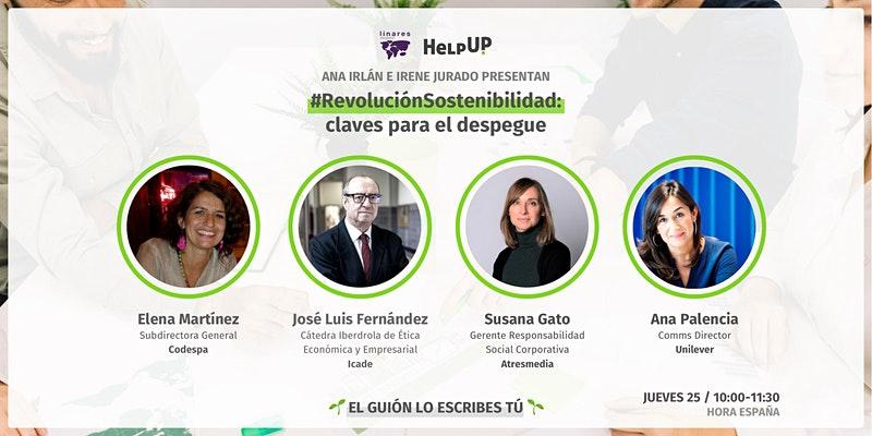 """#RevolucionSostenibilidad 2.0: """"Claves para el despegue"""""""