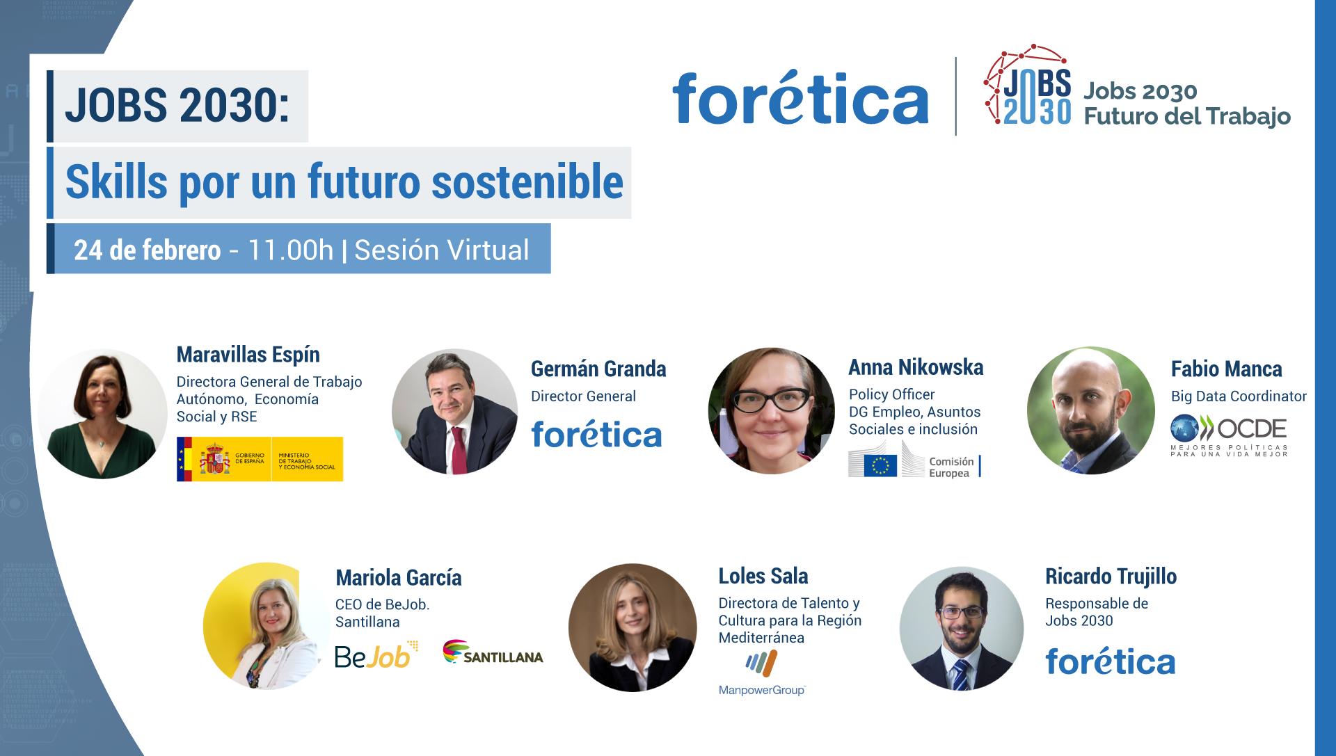 JOBS 2030: Skills por un futuro sostenible
