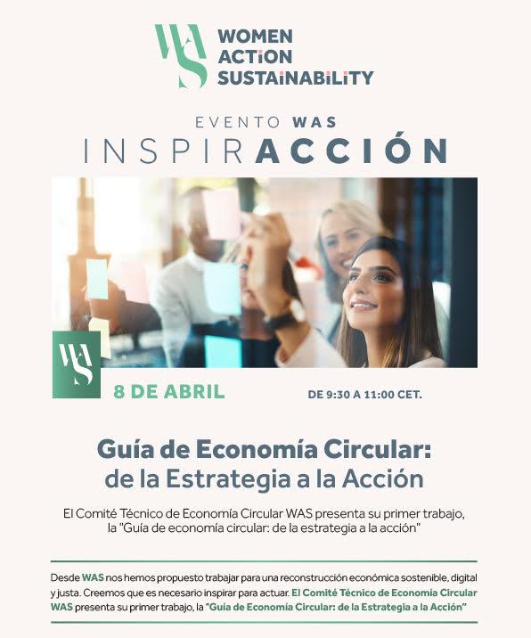 Presentación de la Guía de Economía Circular de Women Action Sustainability