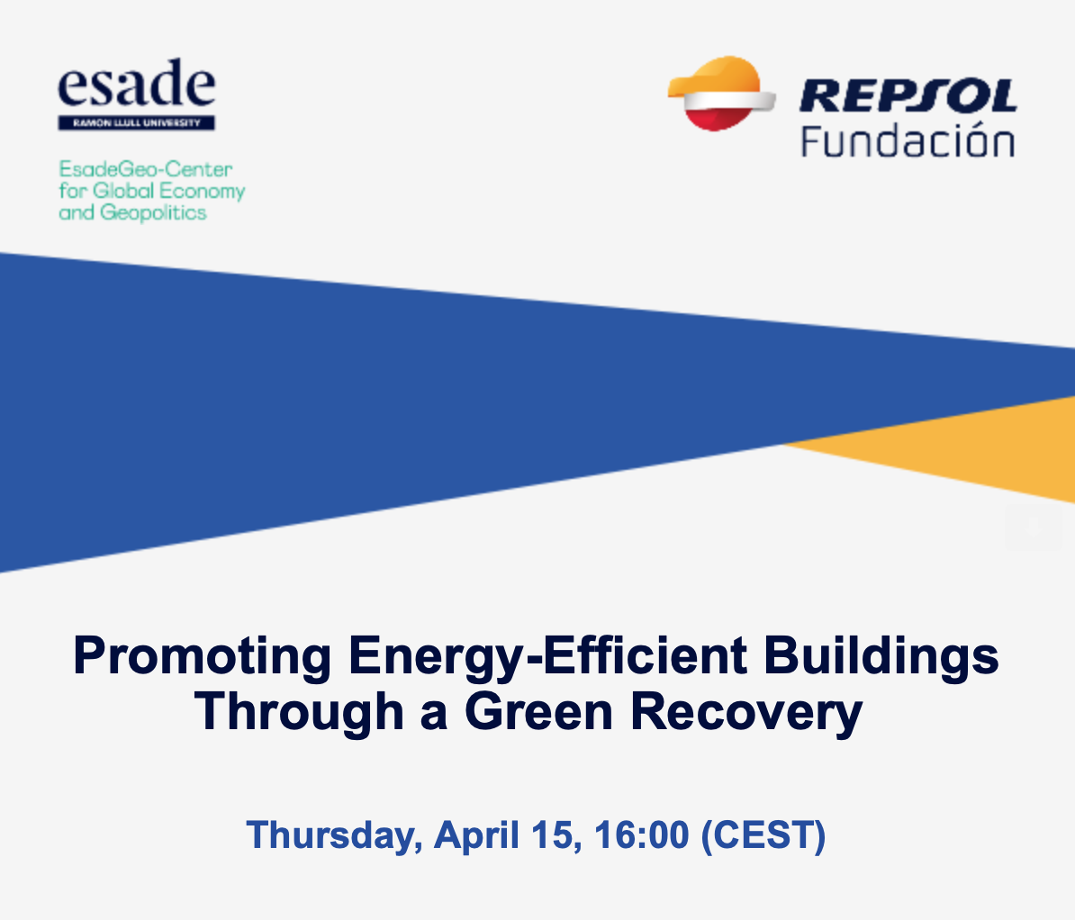 Promoting Energy-Efficient Buildings Through a Green Recovery