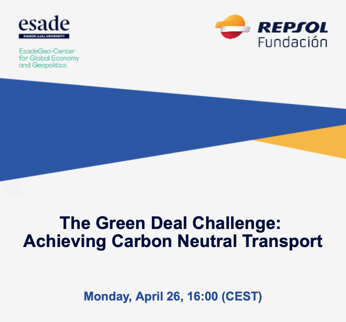 The Green Deal Challenge:  Achieving Carbon Neutral Transport
