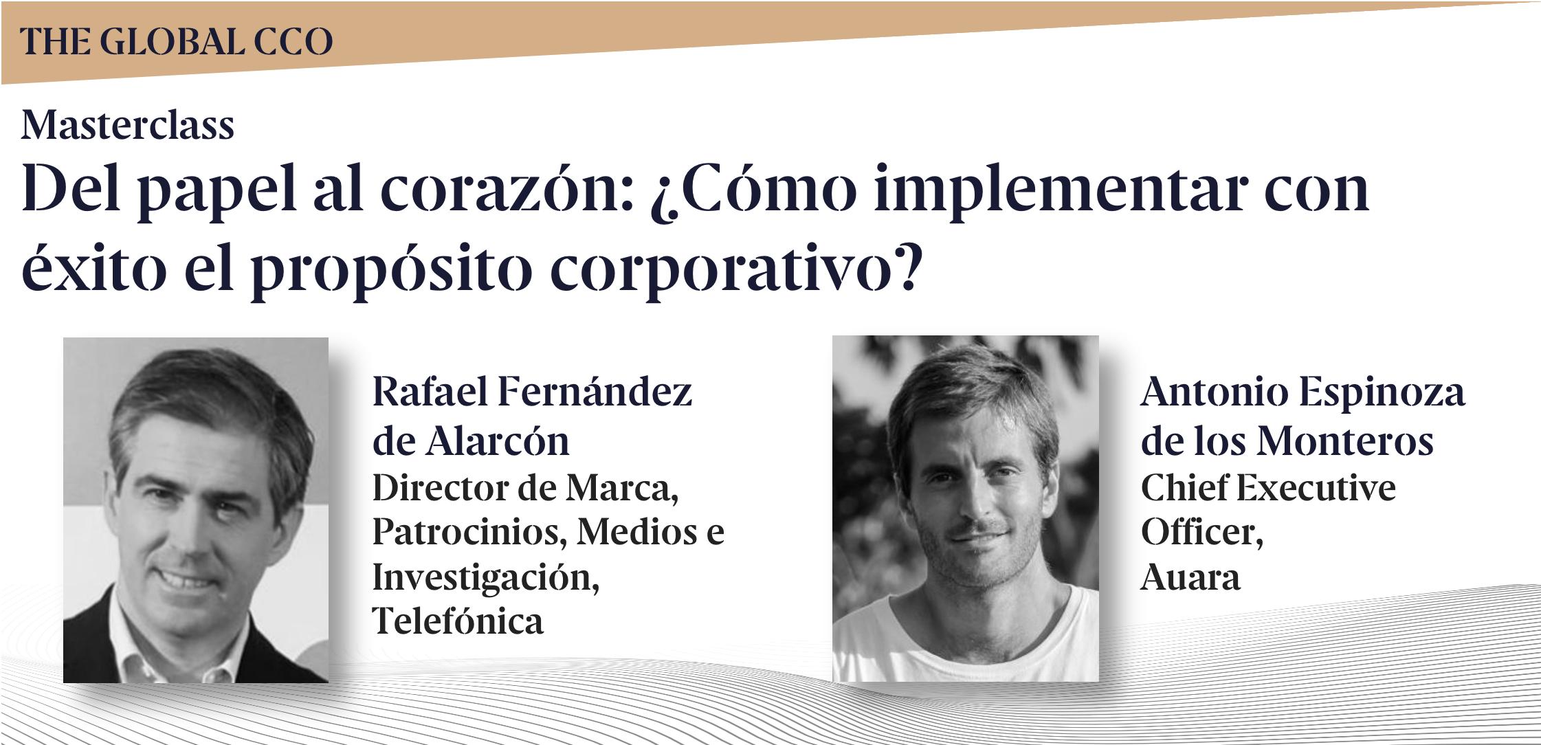 Masterclass gratuita: Del papel al corazón: ¿Cómo implementar con éxito el propósito corporativo?