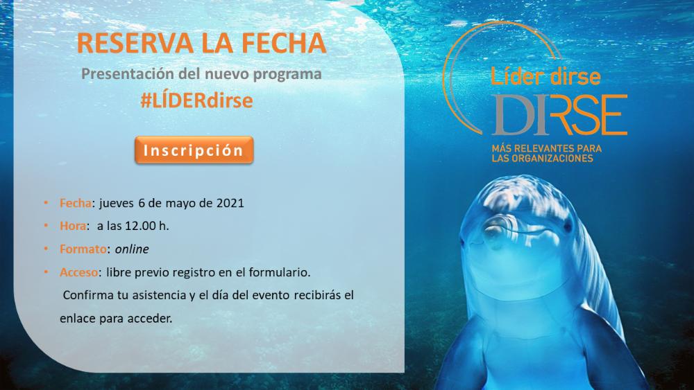 """Presentación del nuevo programa """"LÍDER dirse"""""""