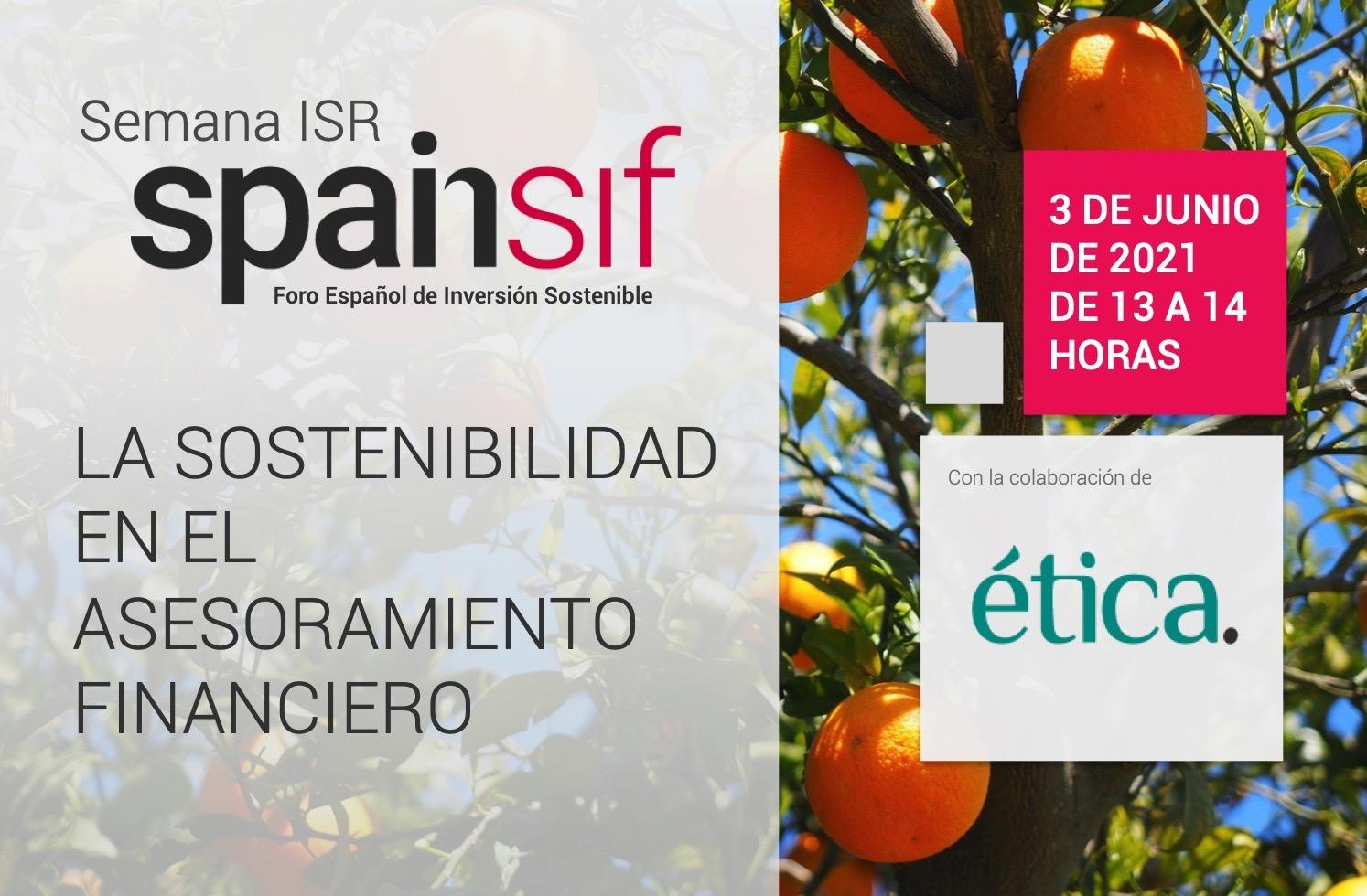 Semana ISR: La sostenibilidad en el asesoramiento financiero