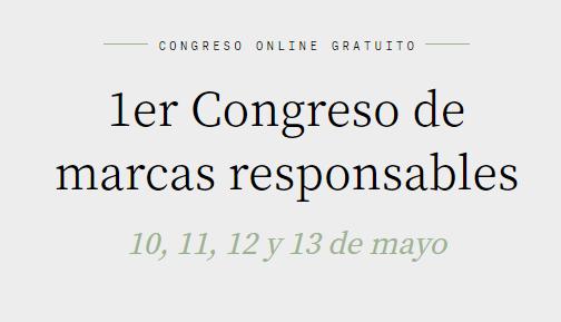 1er Congreso de marcas responsables