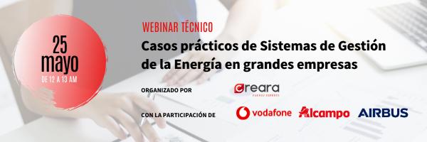 Experiencia de Vodafone, Alcampo y Airbus en gestión energética ISO 50001