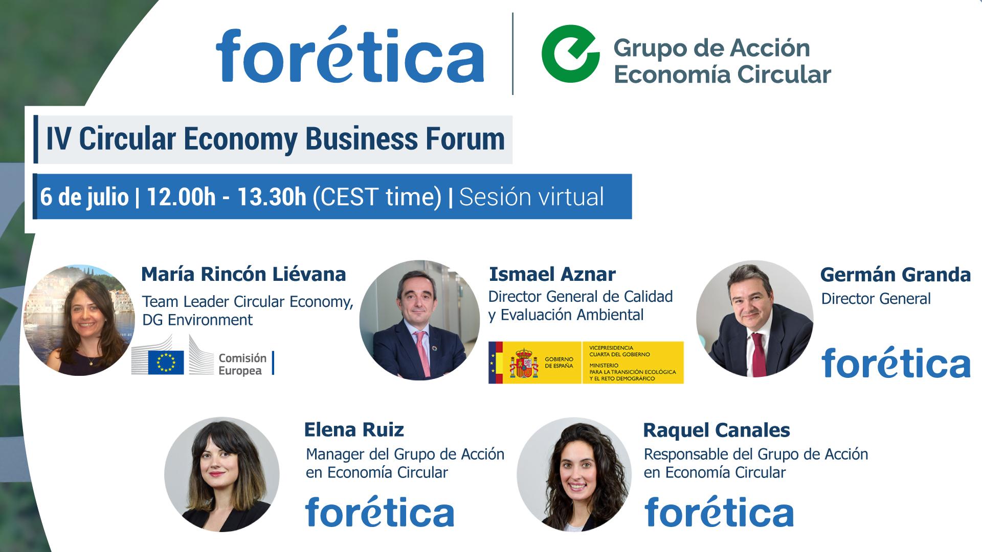IV Circular Economy Business Forum