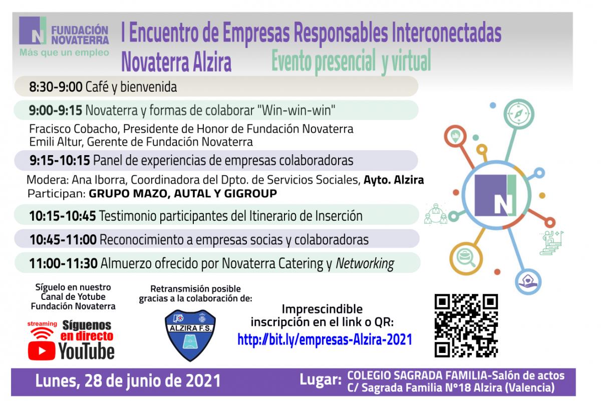 I Encuentro Novaterra Alzira de Empresas Responsables Interconectadas