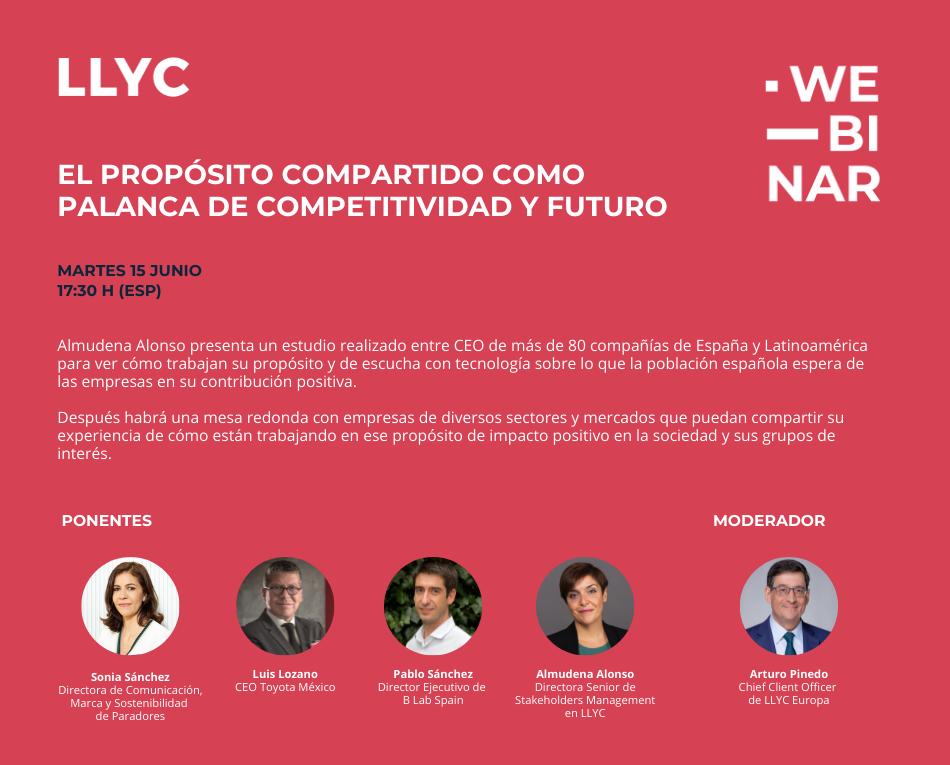 el proposito compartido como palanca de la competitividad LLYC