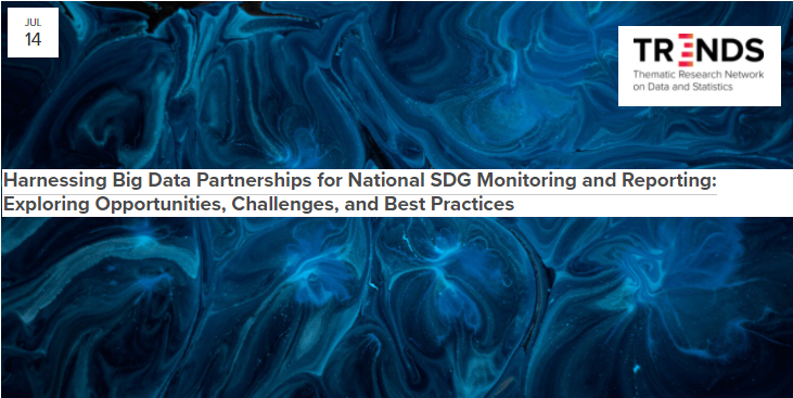 Harnessing Big Data Partnerships for National SDG Monitoring and Reporting: Exploring Opportunities, Challenges, and Best Practices