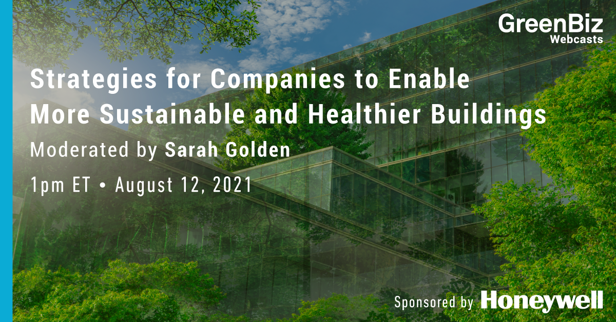 Strategies for Companies to Enable More Sustainable and Healthier Buildings