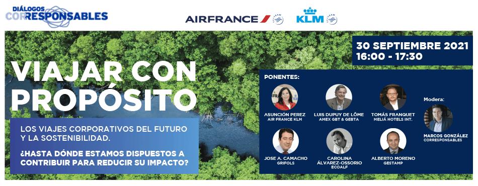 Diálogos Corresponsables & Air France-KLM: Viajar con propósito