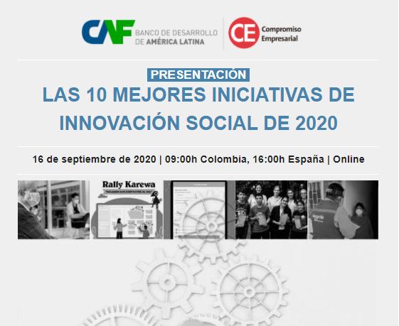 Las 10 mejores iniciativas de innovación social de 2020