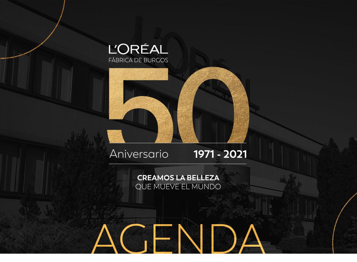 50 Aniversario de la Fábrica de L'Oréal en Burgos