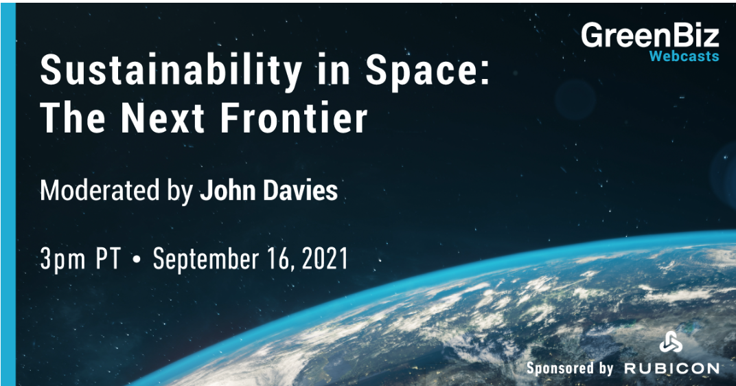 Sustainability in Space: The Next Frontier