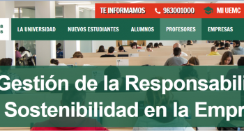 Nuevo máster en Gestión de la Responsabilidad Social y la Sostenibilidad en la Empresa de la UEMC y Visión Responsable